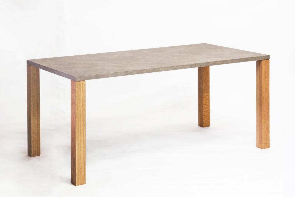 NOMBE dining table mortar/oak|ノンベ ダイニングテーブル モルタル / オーク