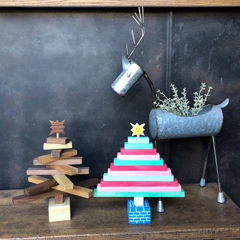 NichibiであそぼWOOD ワークショップ クリスマスツリー