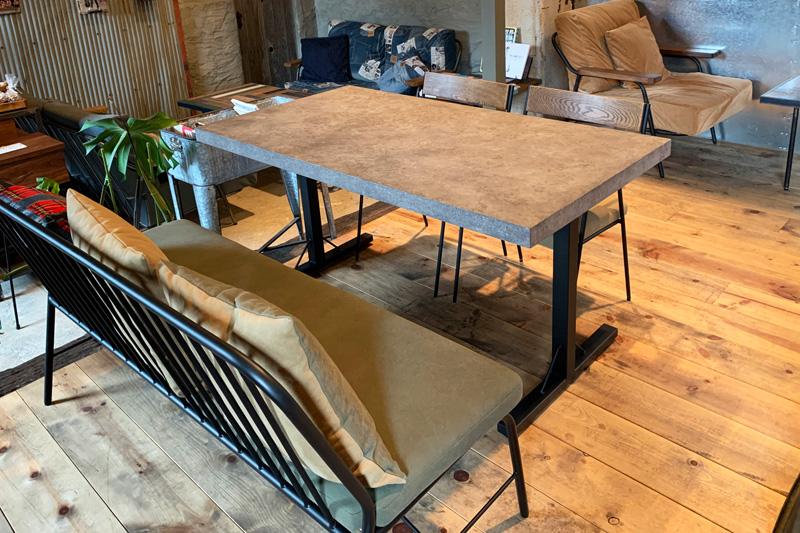 Guile Dining Table|ガイル ダイニングテーブル モルタル